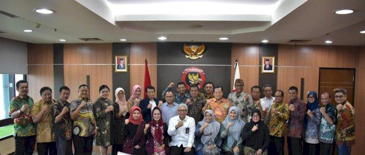 Jalin Sinergi, Sestama BNPT Terima Kunjungan 24 Anggota DPRD Jawa Timur