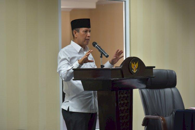Kepala BNPT Sampaikan Strategi Penanggulangan Terorisme Penuh Inovasi dalam Entry Meeting