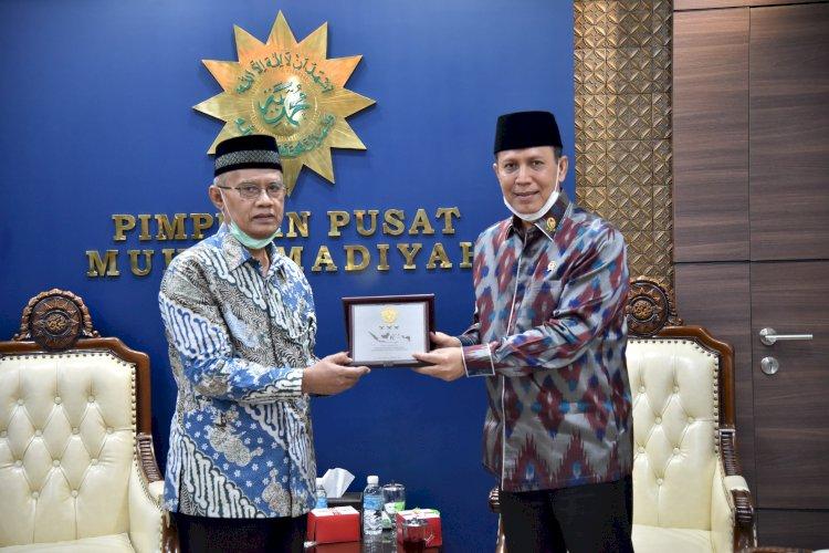 Kunjungan Silaturahmi Kepala BNPT dengan Ketua Umum Pimpinan Pusat Muhammadiyah di Yogyakarta