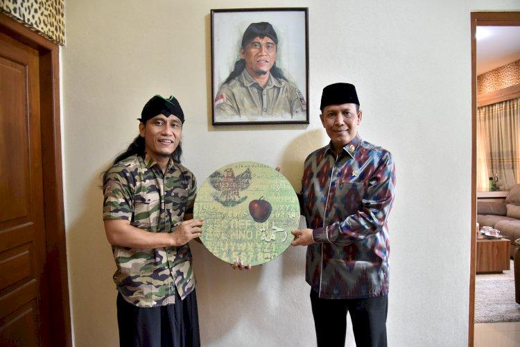 Kepala BNPT Silaturahmi ke Ponpes Gus Miftah, Matangkan Dakwah Agama Berwawasan Kebangsaan