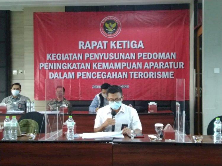 BNPT MANTAPKAN PEDOMAN TEKNIS PENINGKATAN KEMAMPUAN APARATUR DALAM PENCEGAHAN TERORISME