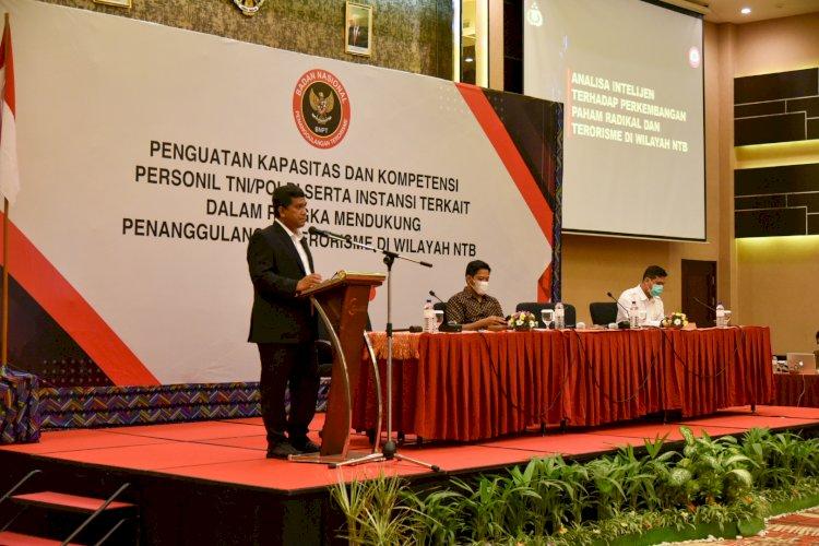 Pelaksanaan Seminar Lanjutan Penguatan Kapasitas dan Kompetensi Personil TNI/Polri serta Instansi Terkait dalam Rangka Mendukung Penanggulangan Terorisme