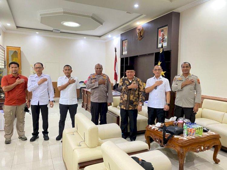 Polda Papua Berharap Dukungan BNPT Guna Ciptakan Kondisi Papua yang Damai dan Tentram