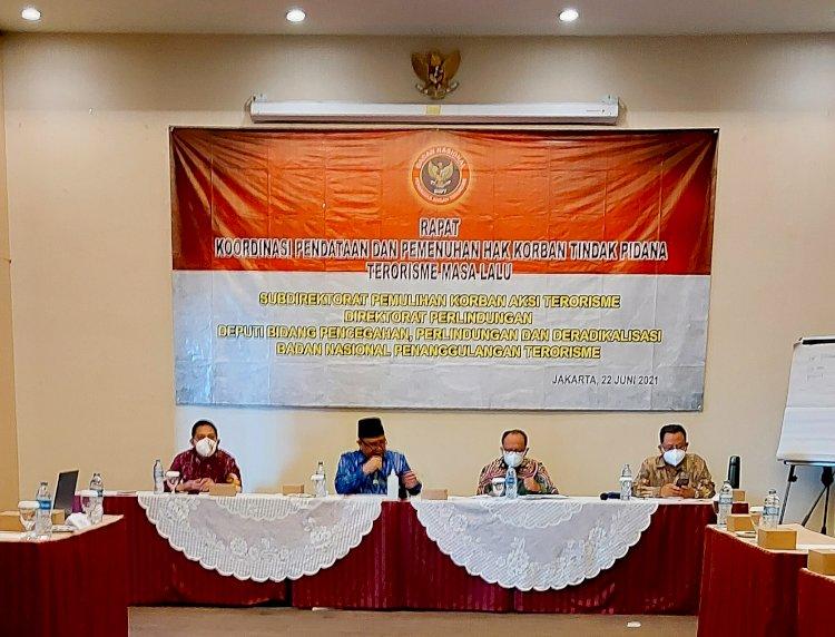 BNPT Bersama LPSK Tingkatkan Koordinasi Data dan Informasi dalam Pemenuhan Hak Korban Tindak Pidana Terorisme Masa Lalu