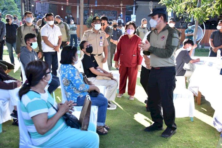 Dukung Pencegahan Covid-19, BNPT Berikan Vaksin Gratis di Tentena, Sulawesi Tengah