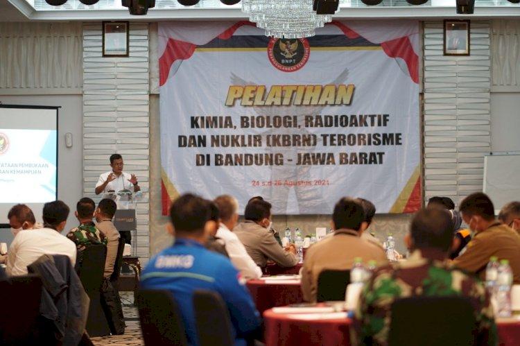 Tingkatkan Sinergisitas Penanggulangan Penggunaan Unsur KBRN dalam Terorisme, BNPT Gelar Latihan Bersama TNI-Polri dan K/L Terkait