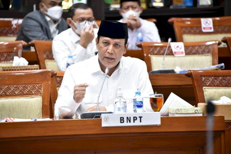 BNPT Mendapatkan Apresiasi Kerja Oleh Komisi III DPR RI Pada Rapat Dengar Pendapat (RDP)